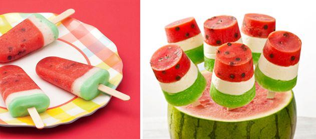 Drunken Watermelon Pops Recipes — Dishmaps