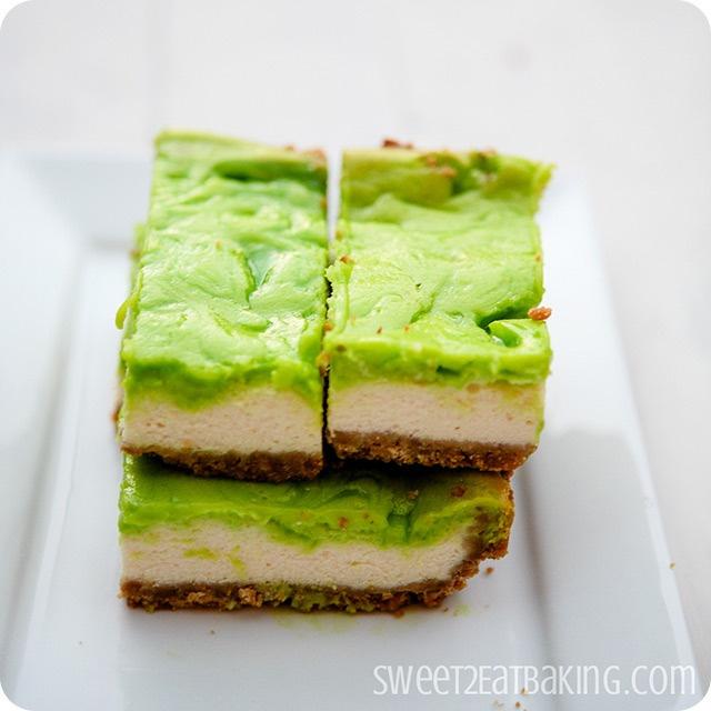 Key Lime Cheesecake Bars | Recipe