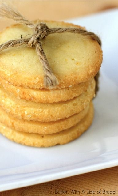 Lemon Icebox Cookies | You Are What You Eat...Be Healty! | Pinterest