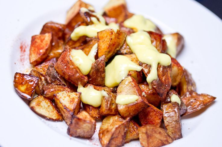 Gojee - Patatas Bravas with Allioli by [ No Recipes ]