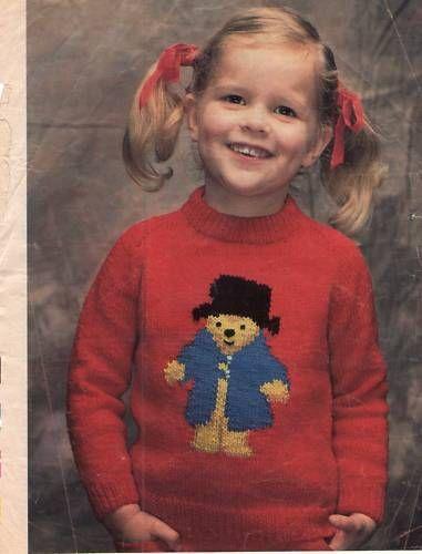 Knitting Pattern Bear Jumper : Pinterest