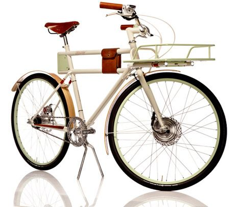 Gorgeous - Faraday Porteur bike
