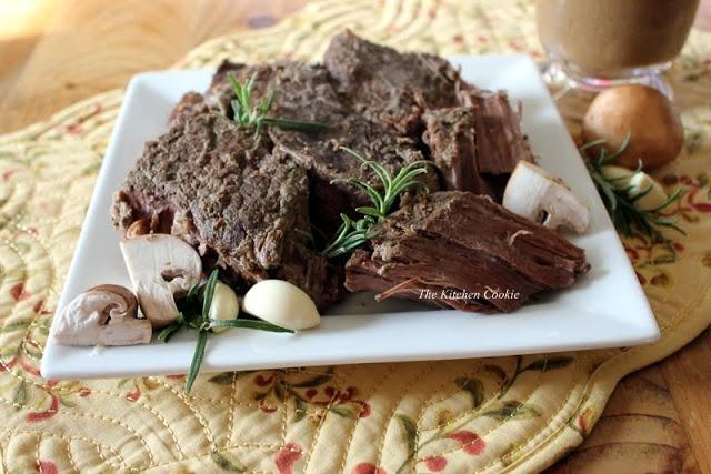 TheKitchenCookie: Mushroom Garlic and Rosemary Roast ~ this looks ...