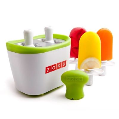 I need this for my little popsicle monsters!    Zoku Duo Quick Pop Maker