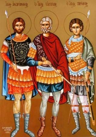 ANDRONICUS, Tarachus and Probus, Martyrs