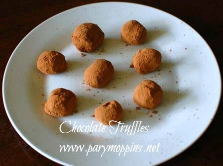 Chocolate Truffles   Om nom nom ~ Sweet Stuff   Pinterest