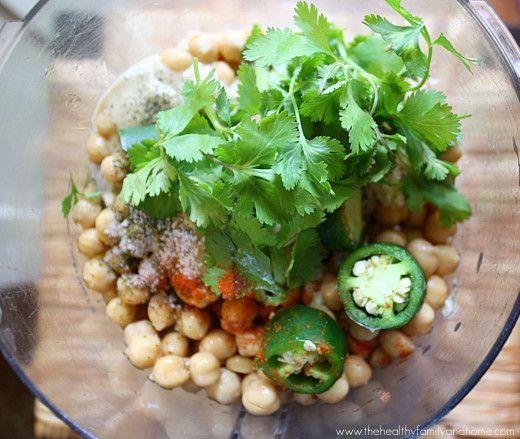 Raw Vegan Jalapeno and Lime Hummus | Recipe
