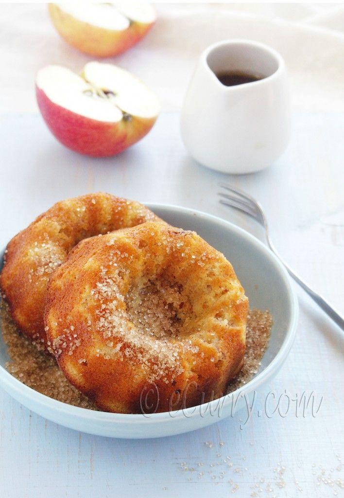 Liquor-soaked apple walnut ginger cake. Fresh ginger, almond flour ...