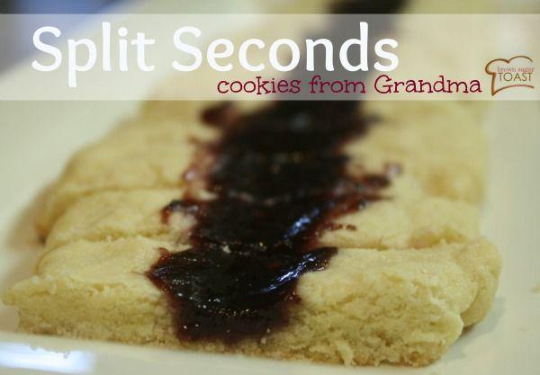 split seconds cookies from grandma