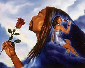 black romantic art - Bing Images | Art | Pinterest African American Love Pictures