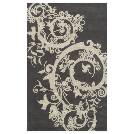 I pinned this Cosa Bella Rug in Charcoal from the Rug Market event at Joss and Main!