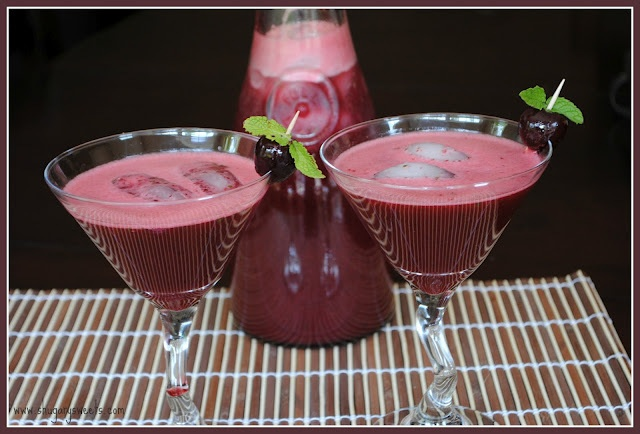 Cherry Mojitos | Cocktails | Pinterest