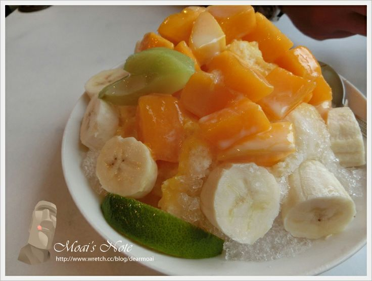 fruit with shaved ice #Taiwan 台南 莉莉水果店 | Foods I want to ...