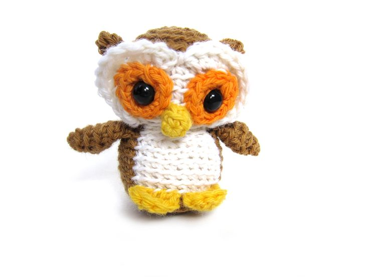 Stuffed owl crochet pattern Mawmaw Pinterest