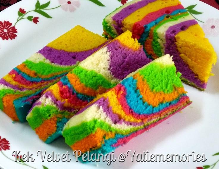 Cake Rainbow Kukus
