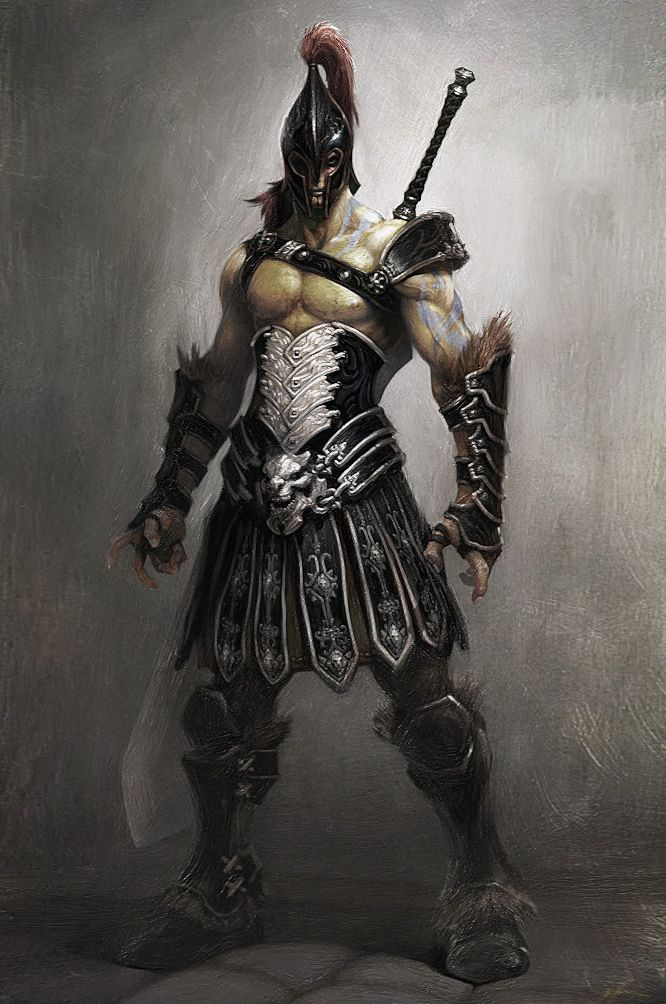 Gladiator mythology fantasy folklore pinterest