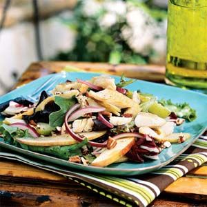 smoked trout salad with apples and pecans @ myrecipes.com