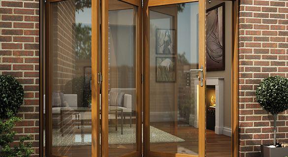 CGI Exterior Sliding Folding Doors Home Downstairs Pinterest