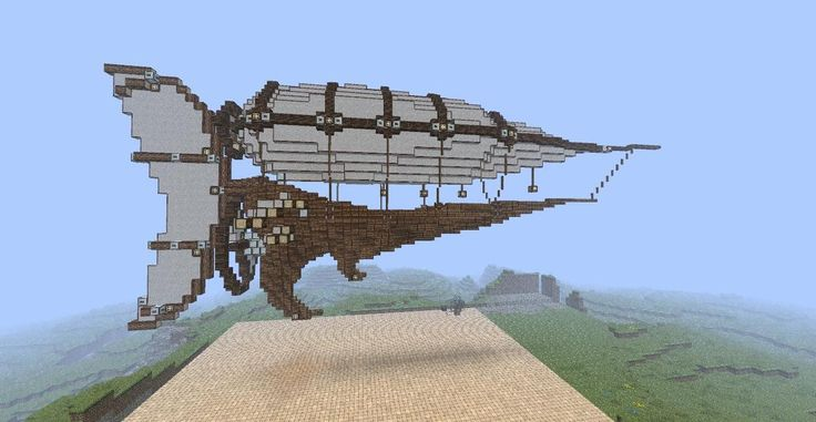 Another Airship | Minecraft crazy | Pinterest