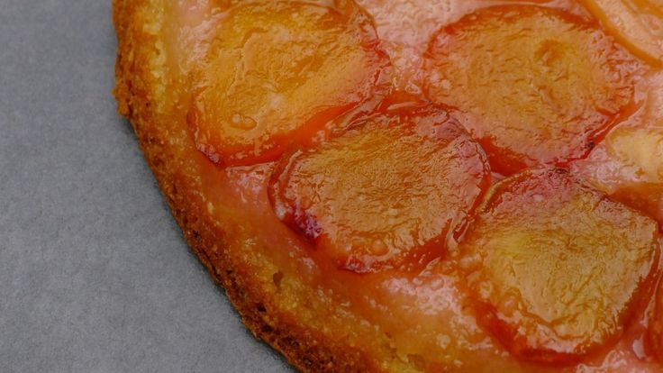 Gluten-Free Plum and Almond Tarte Tatin