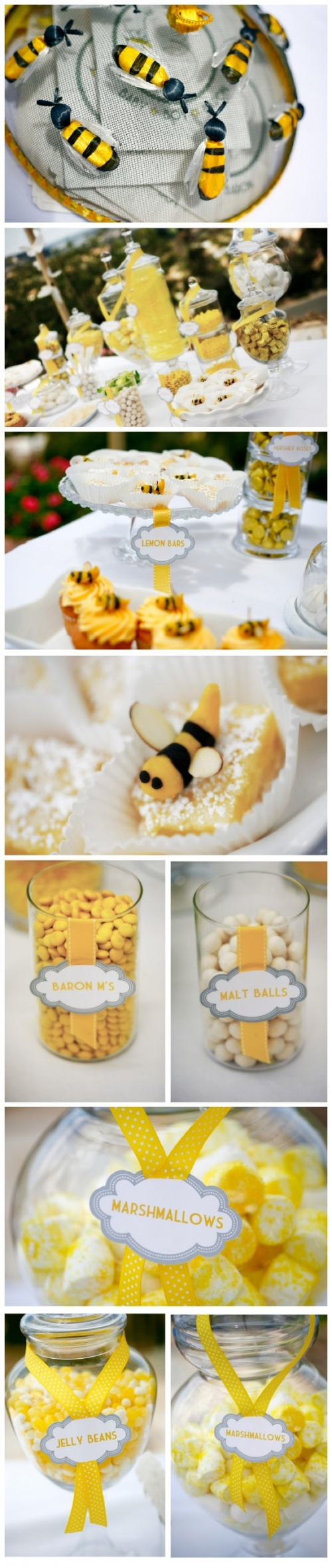 baby shower bumble bee theme i like it for a spring or summer theme