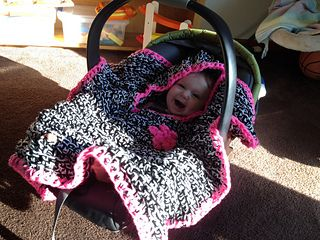 BABY CAR SEAT PONCHO PATTERN   Sewing Patterns for Baby