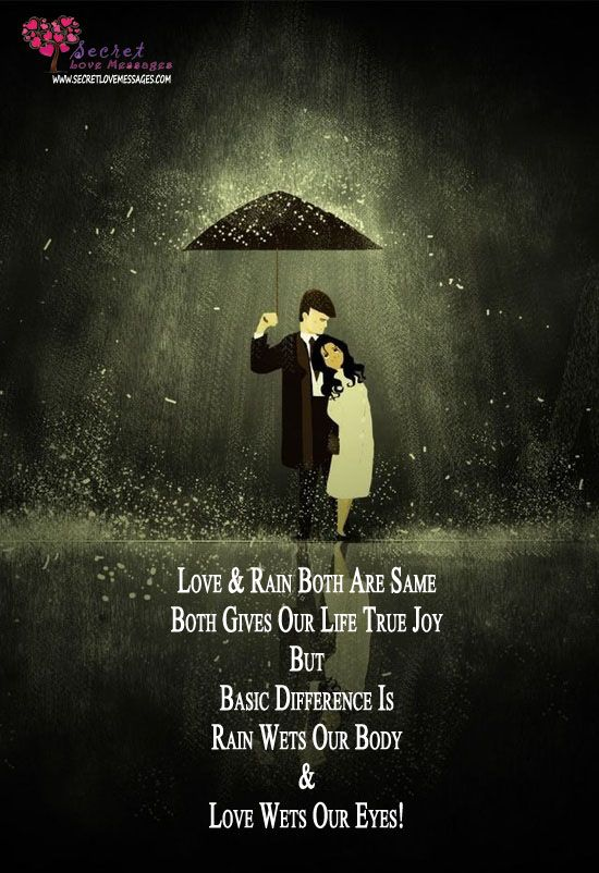 Romantic Quotes On Rain ~ Quotes