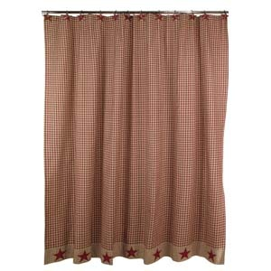 Country Shower Curtain Sets Rustic Shower Curtains