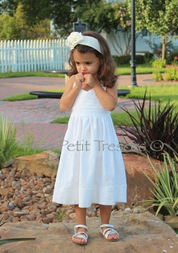 Halter Dress Sizes 3 8 Years Beach Wedding Flower Girl Dress Beach