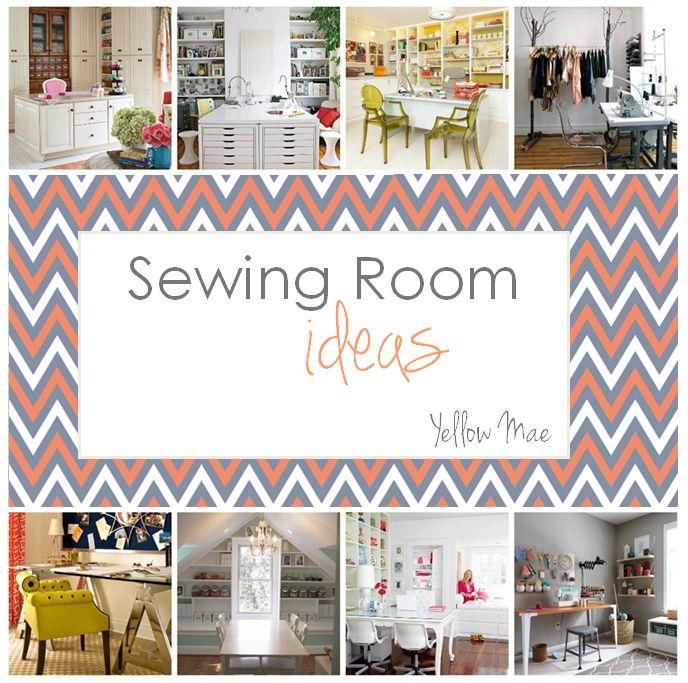 Sewing Room Ideas Craftroom Ideas Pinterest