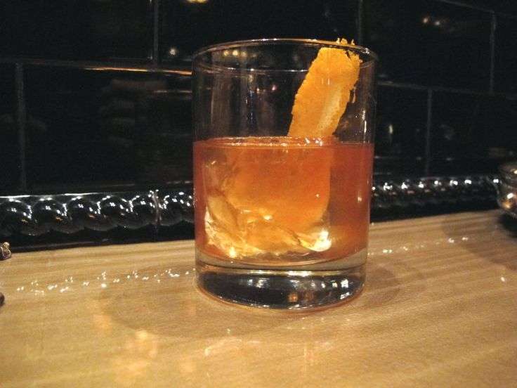 "Pioneer Spirit"" Old Fashioned Cocktail from Food Republic (http ..."