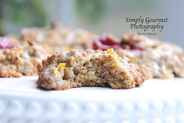 Oatmeal Raspberry Orange Scones | Simply Gourmet