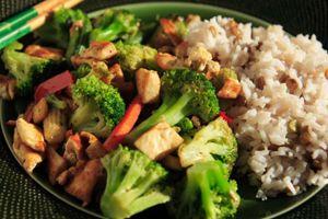 Lentil and Rice Stir Fry