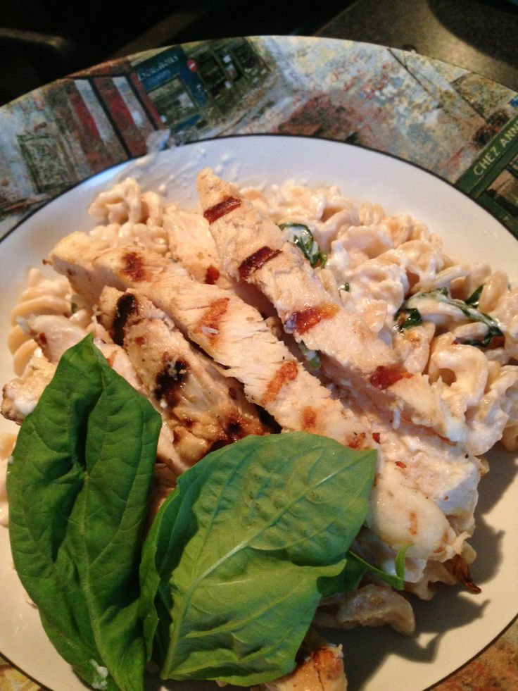 Grilled Chicken with Lemon Basil Pasta The Pioneer Woman's recipe, was ...