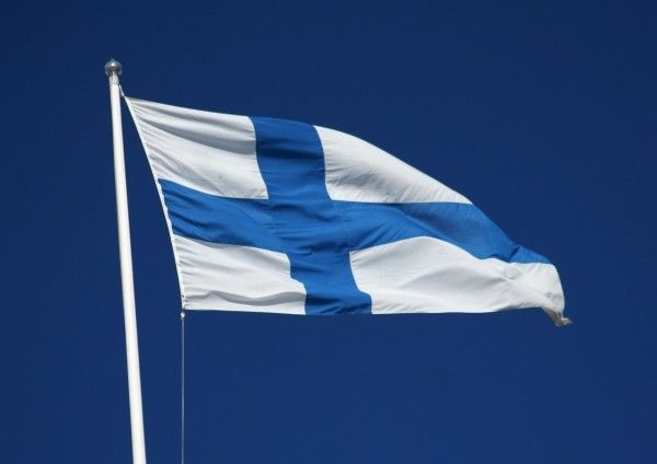 the finland flag