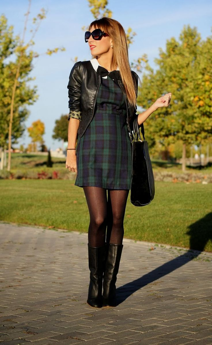 Some Dresses Dont Work With Tights, But These 15 Definitely Do picture