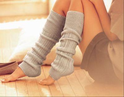 Leg warmers.