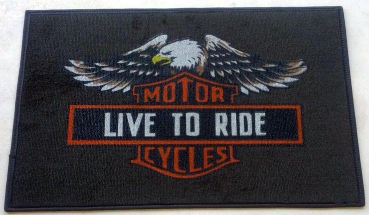Harley Davidson Door Mat Door Mats Pinterest