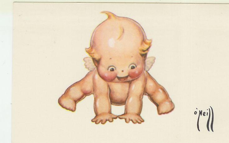 Rose O'Neill Kewpie Post Card 1976