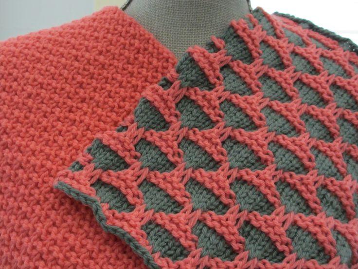 Mosaic Knitting Stitches Patterns : Stitch: mosaic knitting KnitSpiration Pinterest