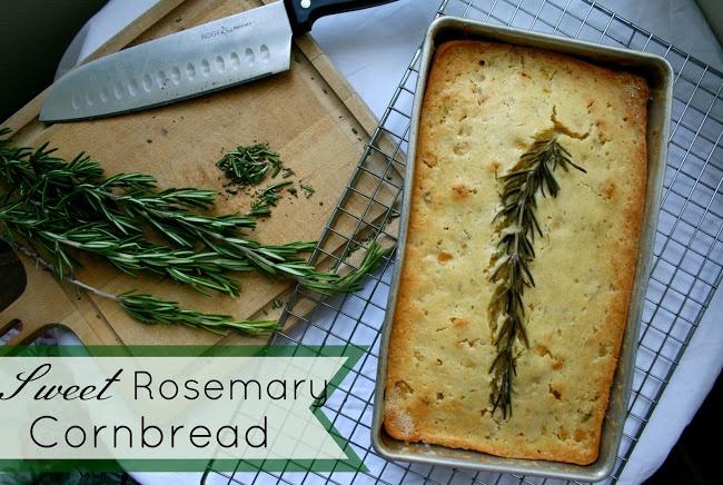Sweet Rosemary Cornbread | Food | Pinterest