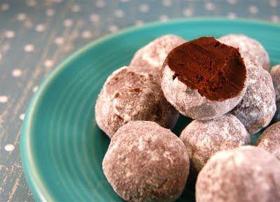 Bittersweet Coconut Cream Truffles with Bubble Tea Powder | Seasonal ...