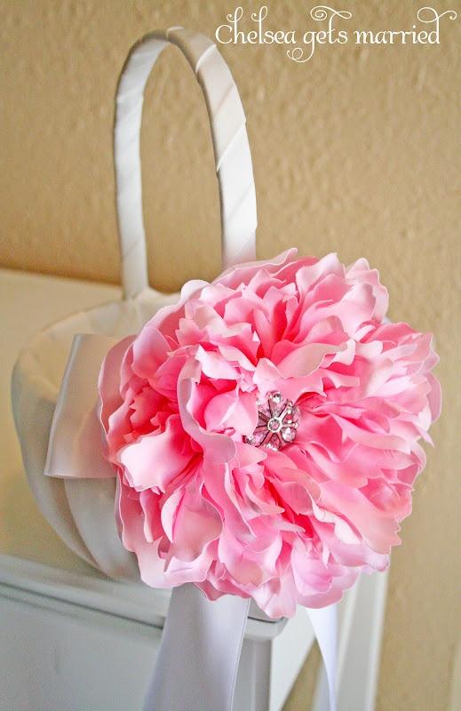 Flower Girl Baskets Pinterest : Flower girl basket definitely my dream wedding ideas