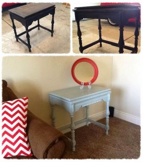 Sewing Table Remake Before After DIY Furniture