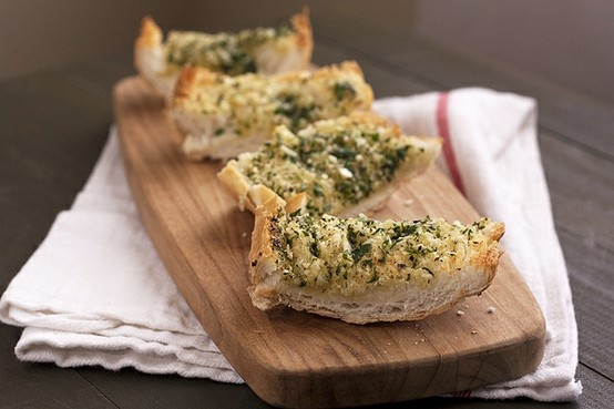 Double-Garlic & Herb Bread | Bread | Pinterest