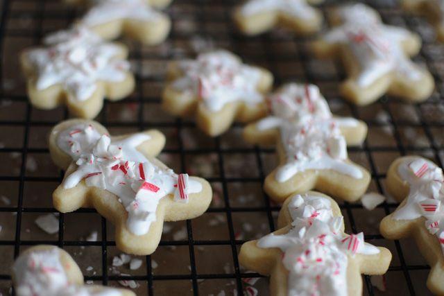 Peppermint Butter Cookies | Cookies | Pinterest