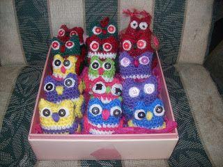 Cats-Rockin-Crochet Fibre Artist.: CROCHET A CUTE SMALL OWL