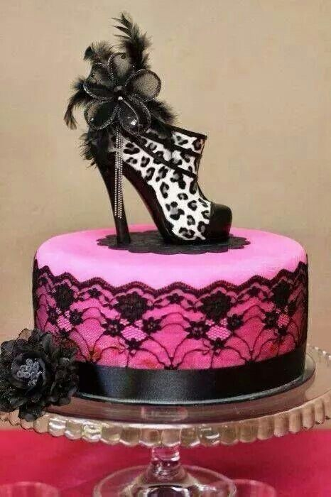 Cake Designs Shoes : Super cool Koeke en Goete Pinterest