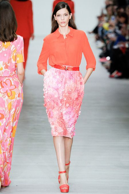 floral Matthew Williamson spring 2014