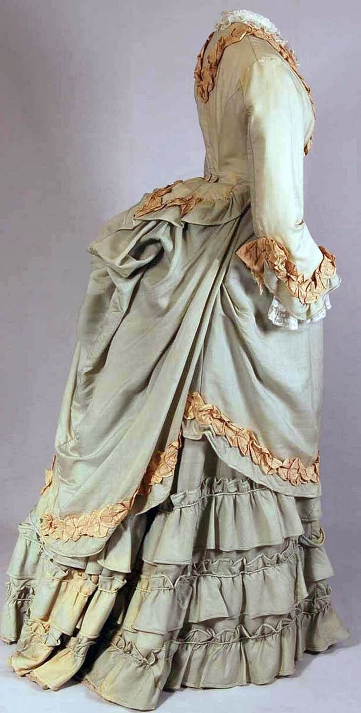 Soft bustle fashion 1870 Selecting the Correct Bustle to Create the 1870s or 1880s Silhouette